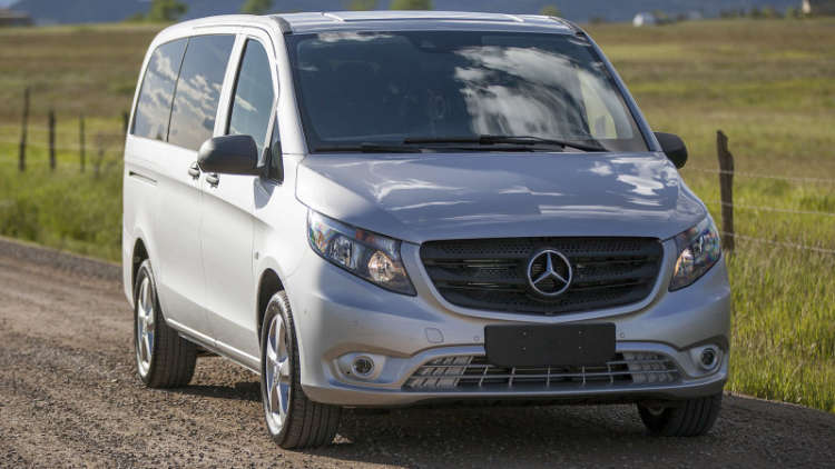2016 Mercedes-Benz Van Camp
