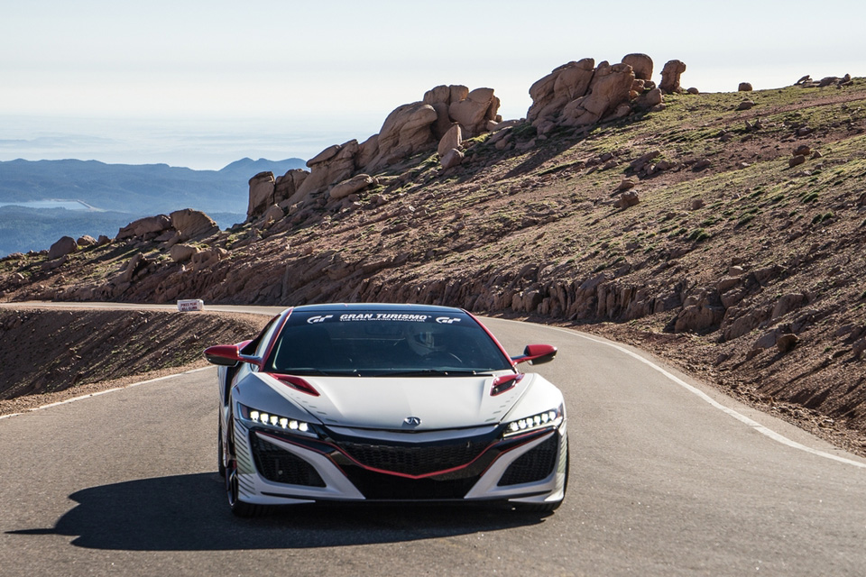 Acura NSX Pace Car At Pikes Peak