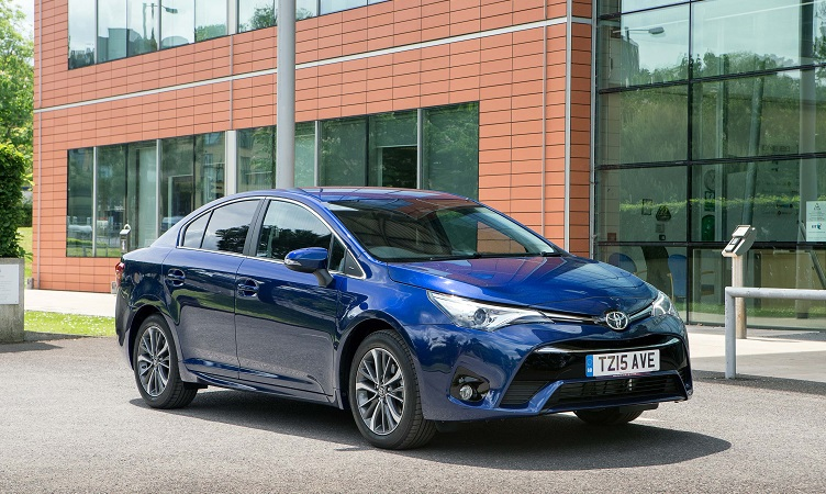 New Avensis Majors On Comfort