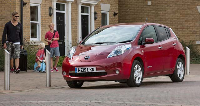 2016 LEAF 30 kWh delivers 250 km