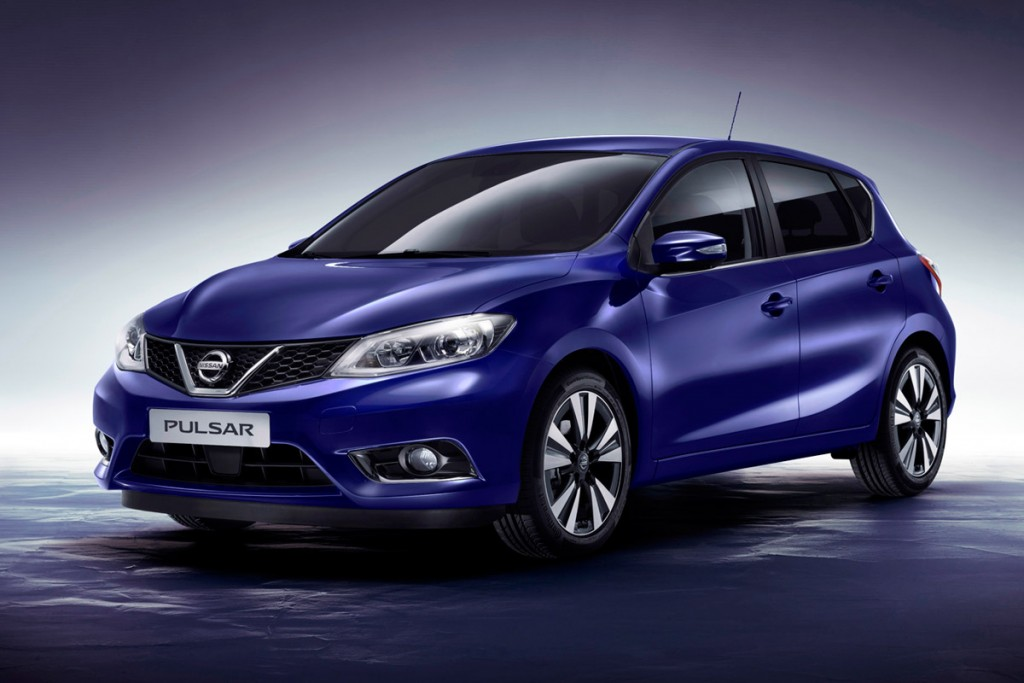 The Nissan Pulsar many degrees