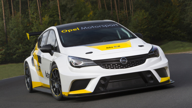 GM's new Opel Astra TCR