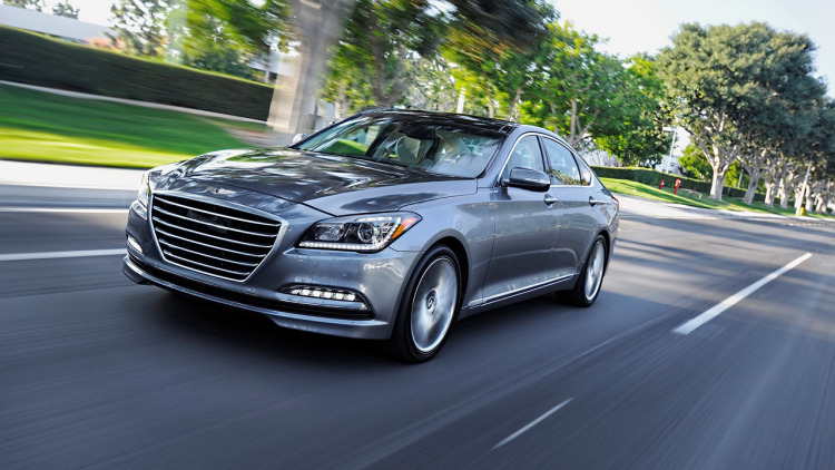 Hyundai spins off Genesis as new luxury