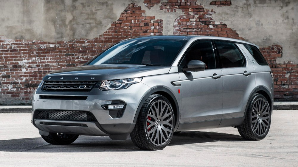 The 2017 Land Rover Discovery Sport