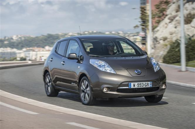 The new longer range Nissan LEAF