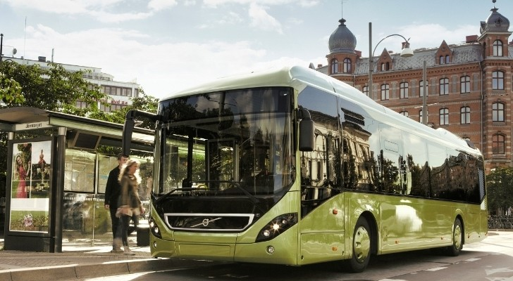 Volvo Sells Electric Bus System