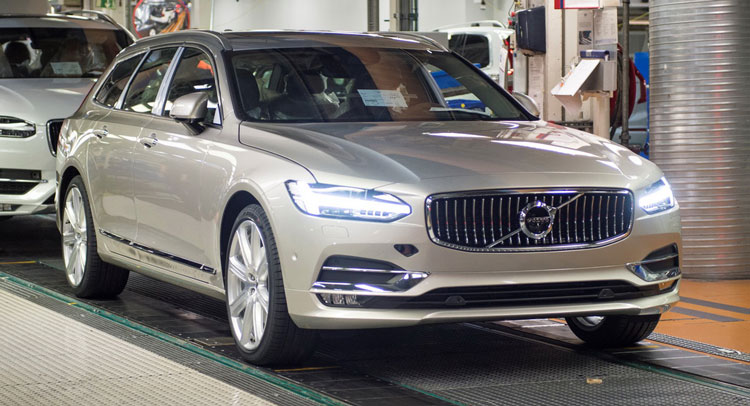 Volvo Unveils First-Ever V90