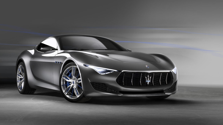 Maserati's Electric Alfieri