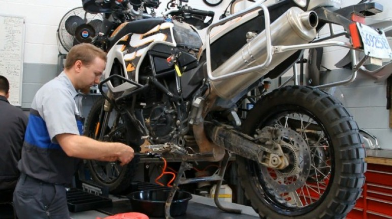 Three DIY Motorcycle Maintenance Tasks