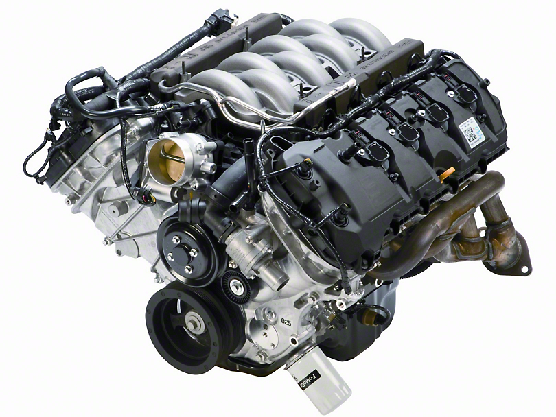 2017 Mustang GT 5.0L engines
