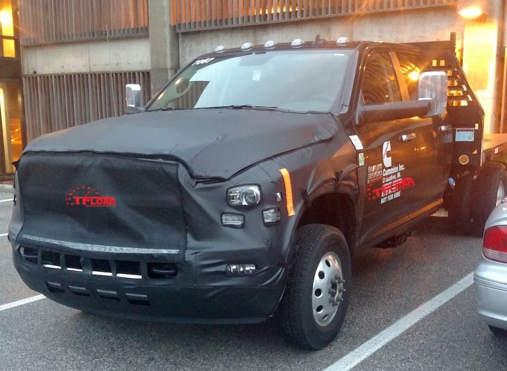 2020 Ram Hd Trucks Revealed In Spy Shots, Along With ...