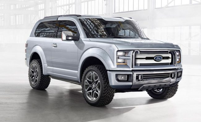 2020 Ford Bronco Could Debut With A 7-Speed Manual ...